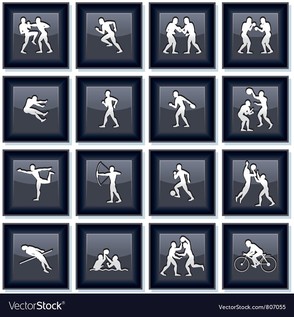 Olympiad Sport Icons