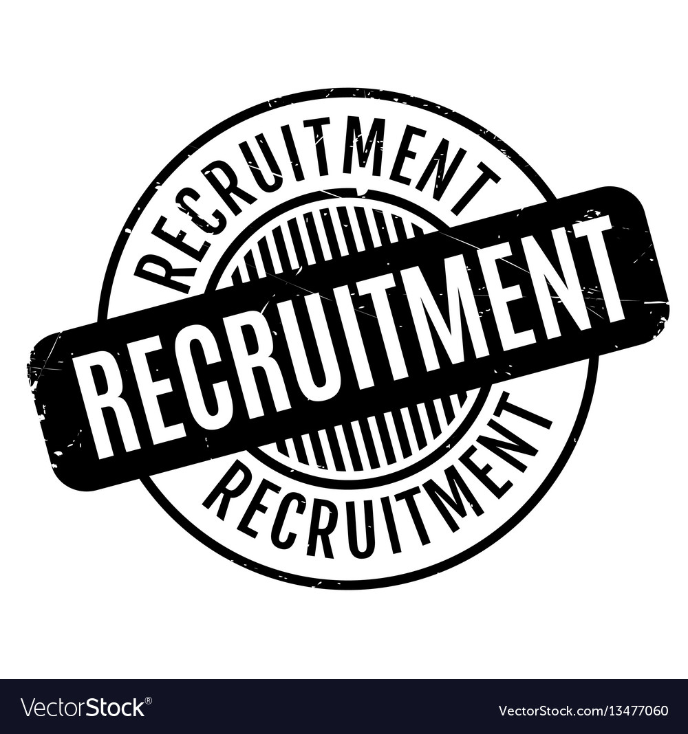 Recruitment rubber stamp