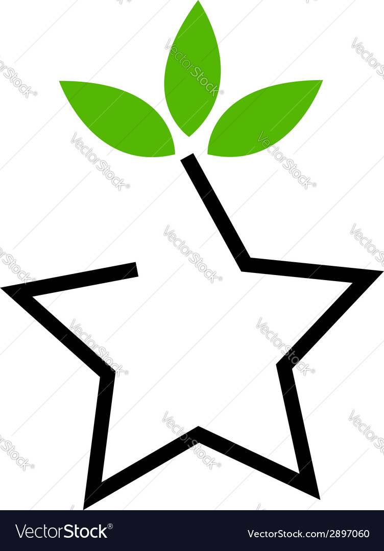 Symbol For Ecological Balance Royalty Free Vector Image