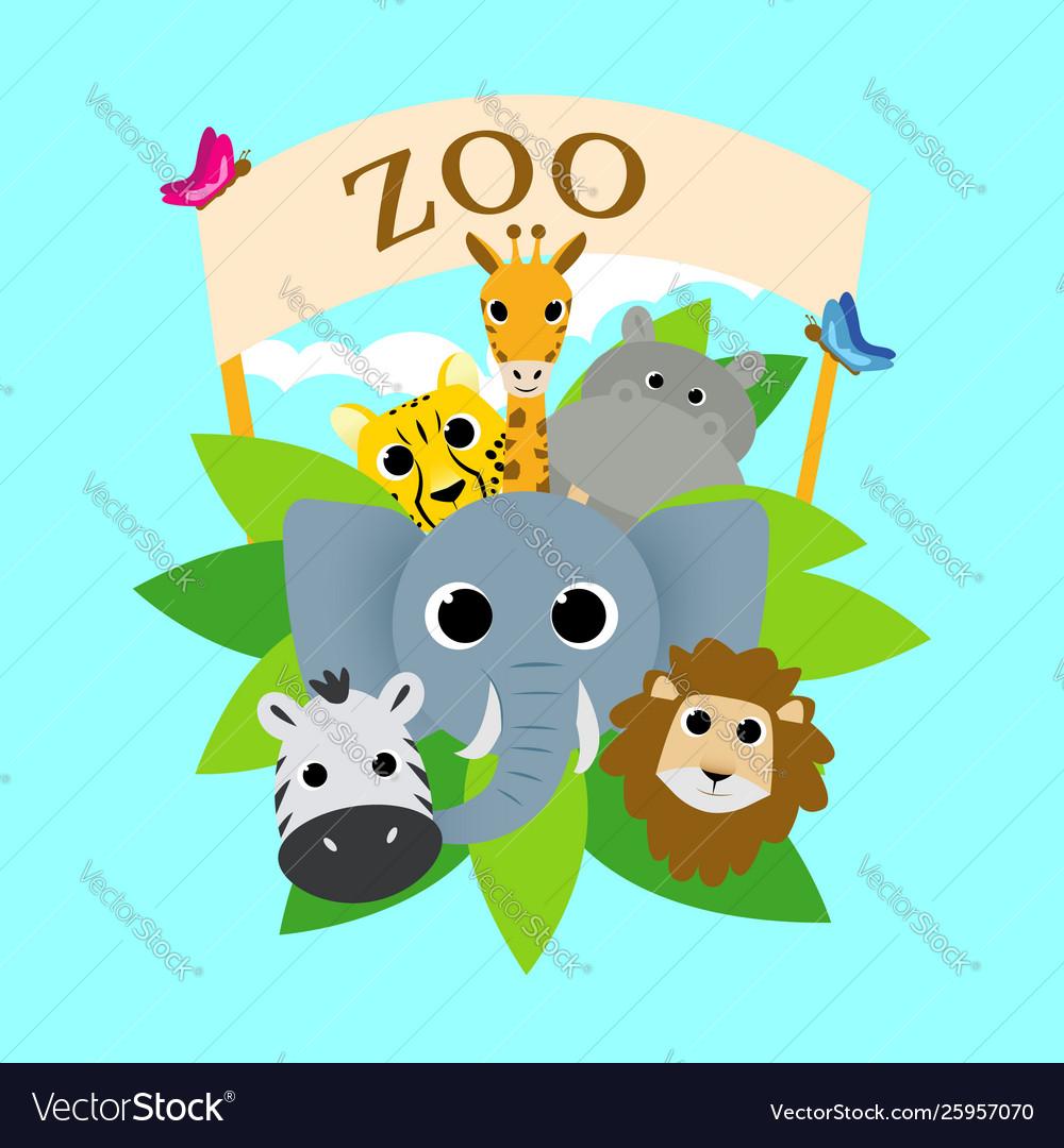 Cute zoo animal