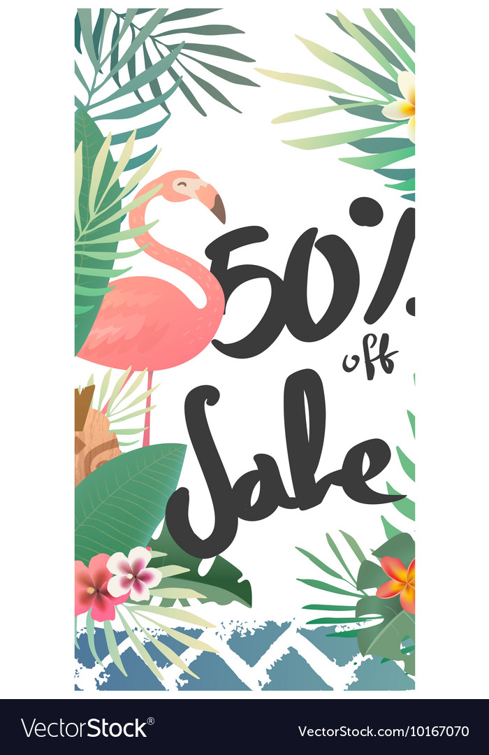 Sale banner template and special offer