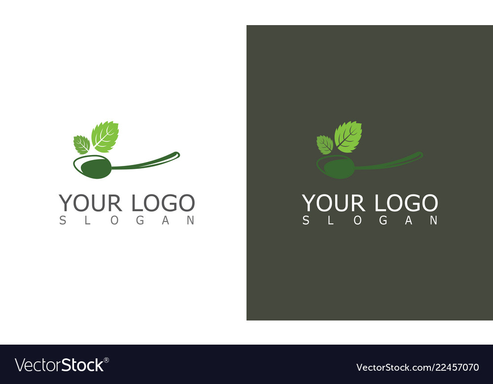 Spoon medicine herbal logo