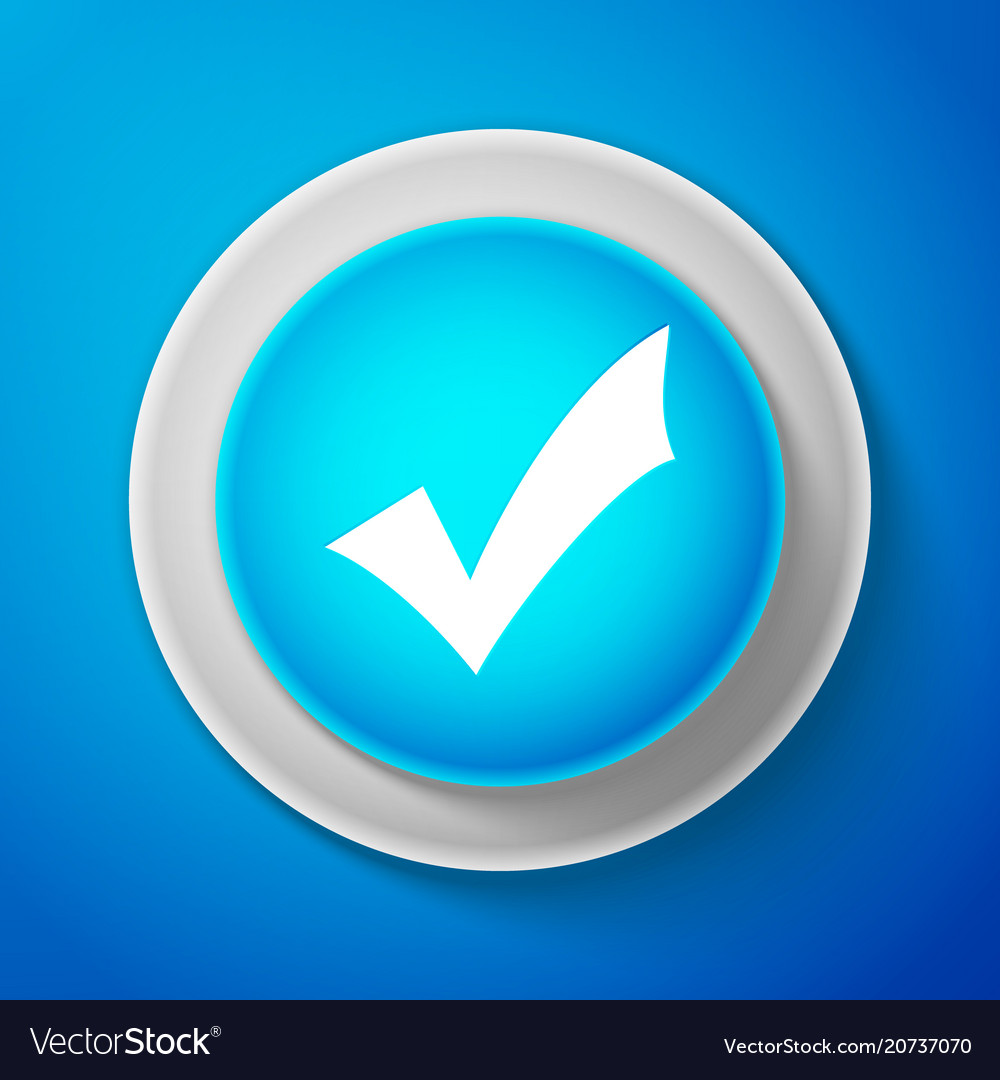White check mark icon tick symbol