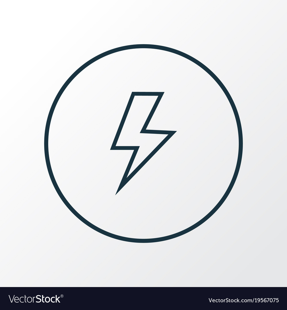 Flash Icon Line Symbol Premium Quality Isolated Vector Image If anyone's looking to learn flash, i'd suggest trying this. flash icon line symbol premium quality isolated vector image