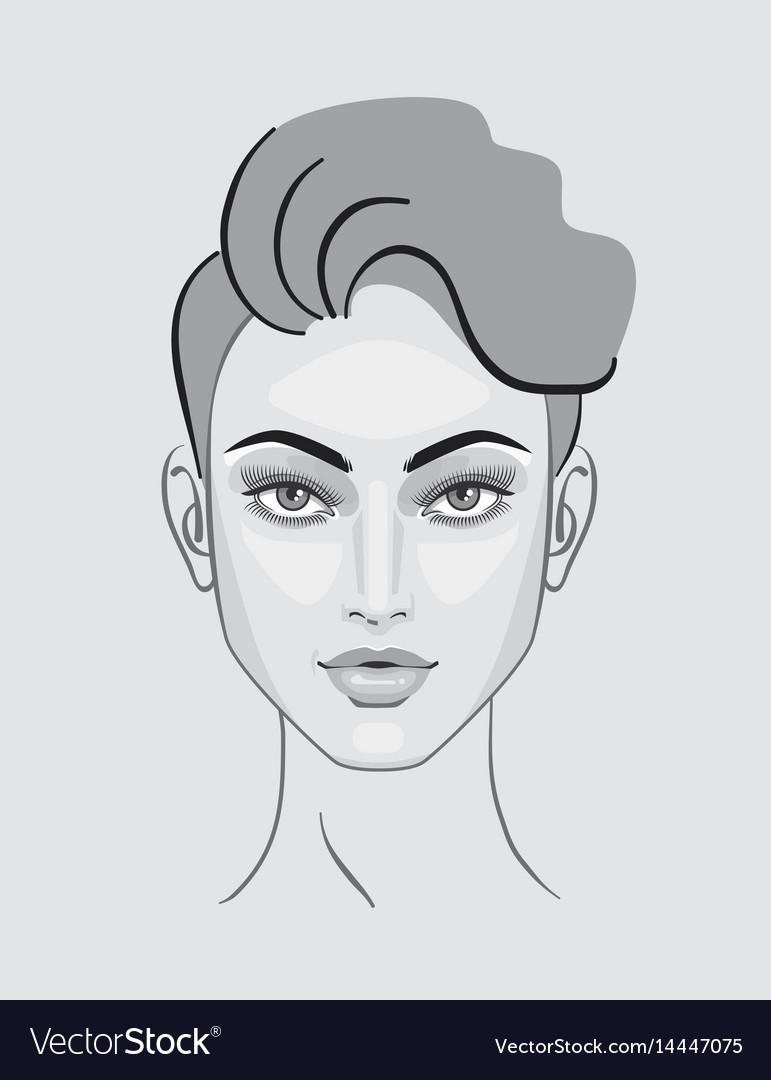 Beauty Sketch Art