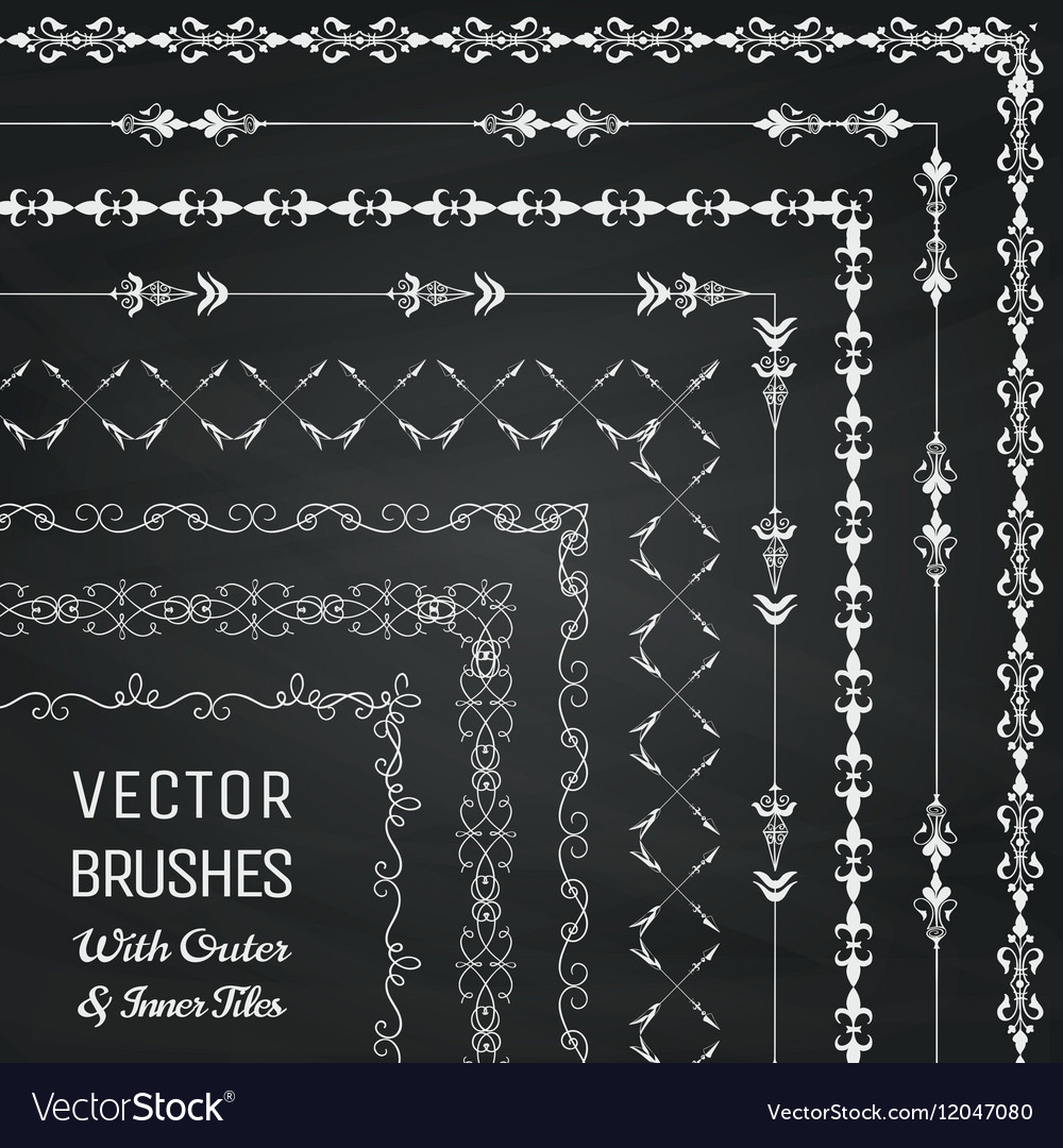 Brushes with Outer and Inner Tiles