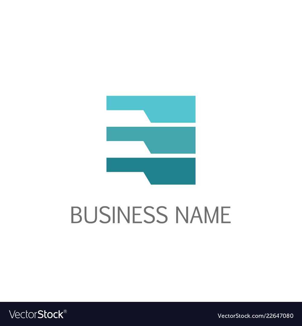 Data line abstract business logo
