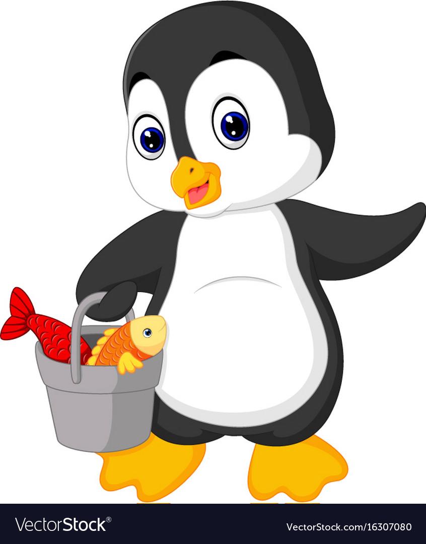Penguin fishing