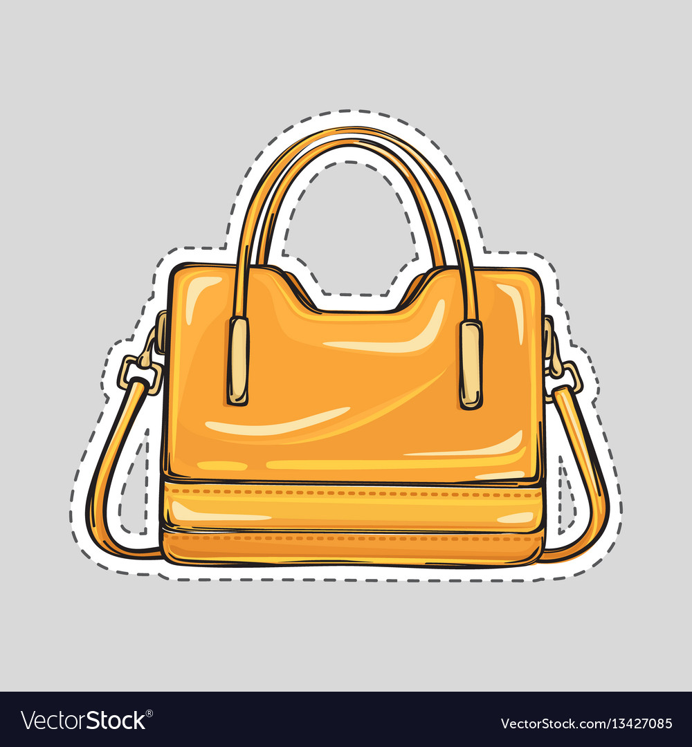Handle And Clips Isolated Vector Image