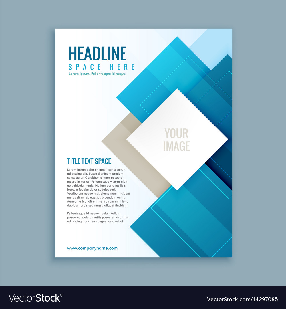 Modern business brochure template flyer royalty free vector modern business brochure template flyer vector image cheaphphosting Image collections
