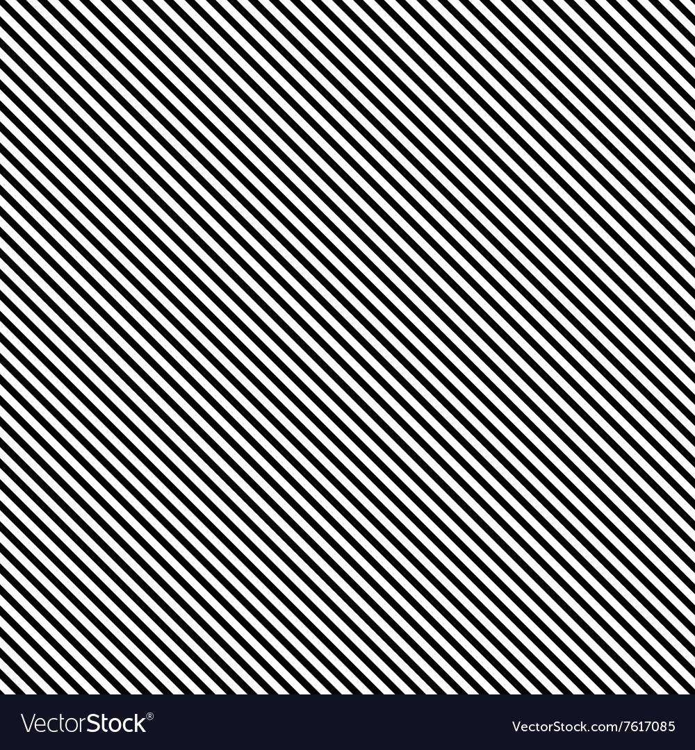 Seamless Black Stripe Background vector image