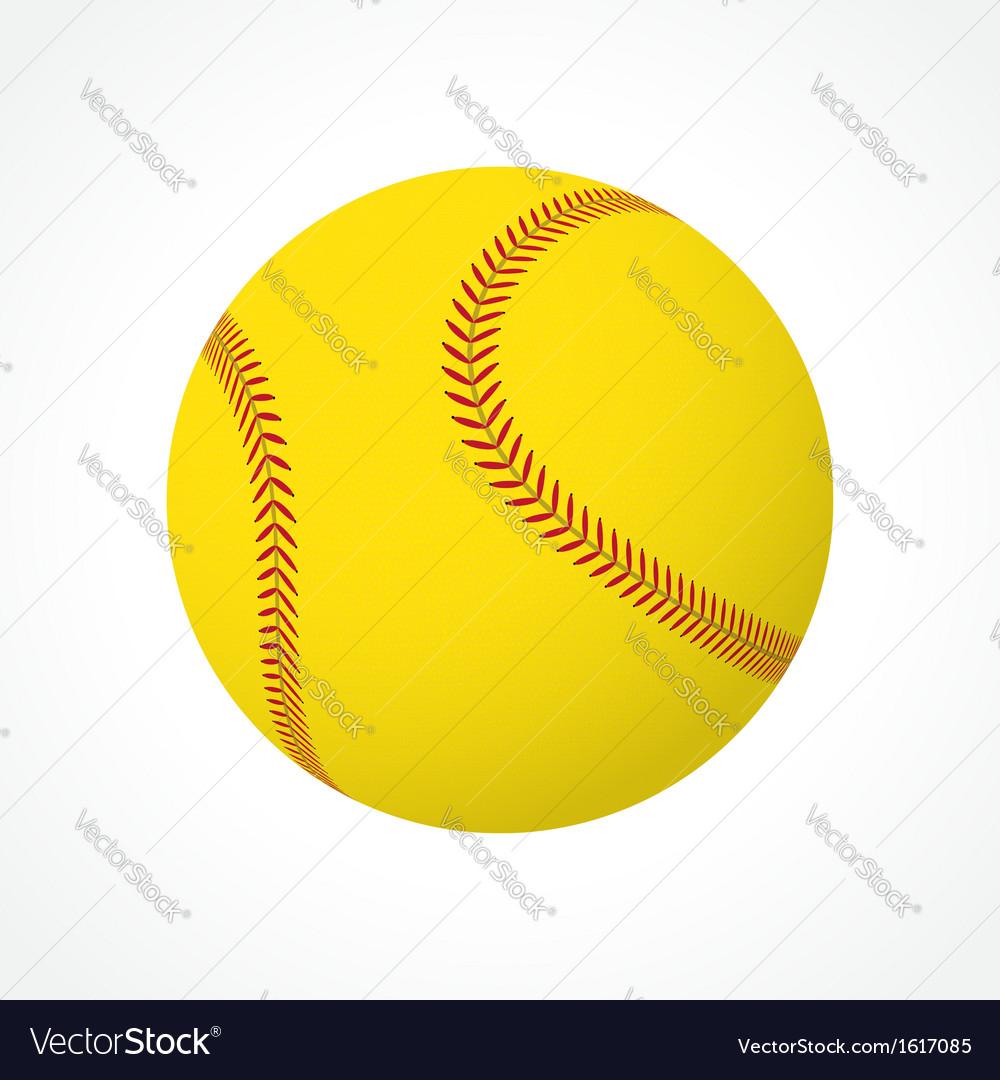 Softball ball