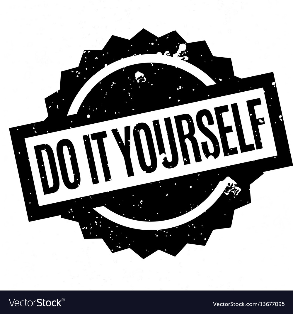 Do it yourself rubber stamp royalty free vector image do it yourself rubber stamp vector image solutioingenieria Gallery