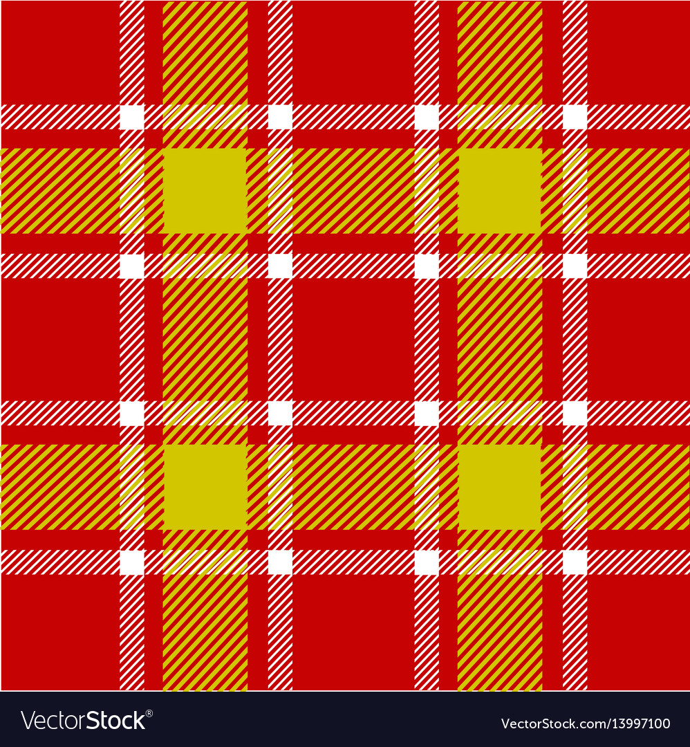 Red plaid pattern