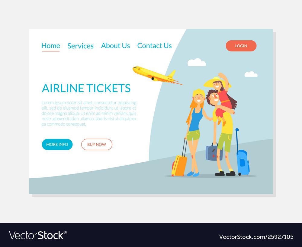 Airline tickets service flight tickets booking