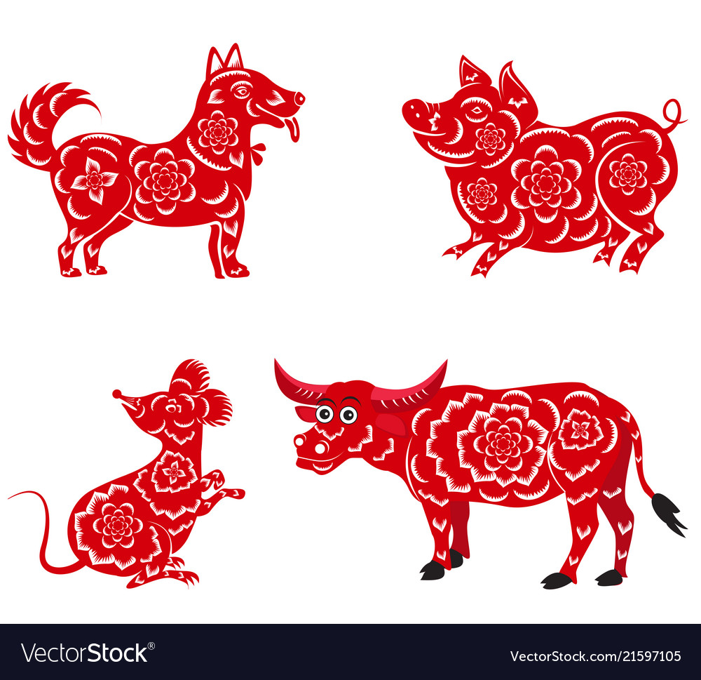 Chinese New Year 2020 Happy chinese new year 2018 2019 2020 2021 with Vector Image