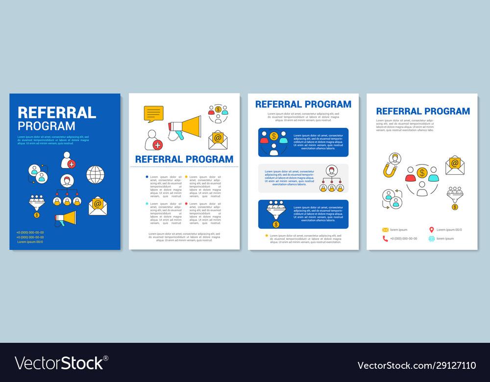 Program template referral Referral Program