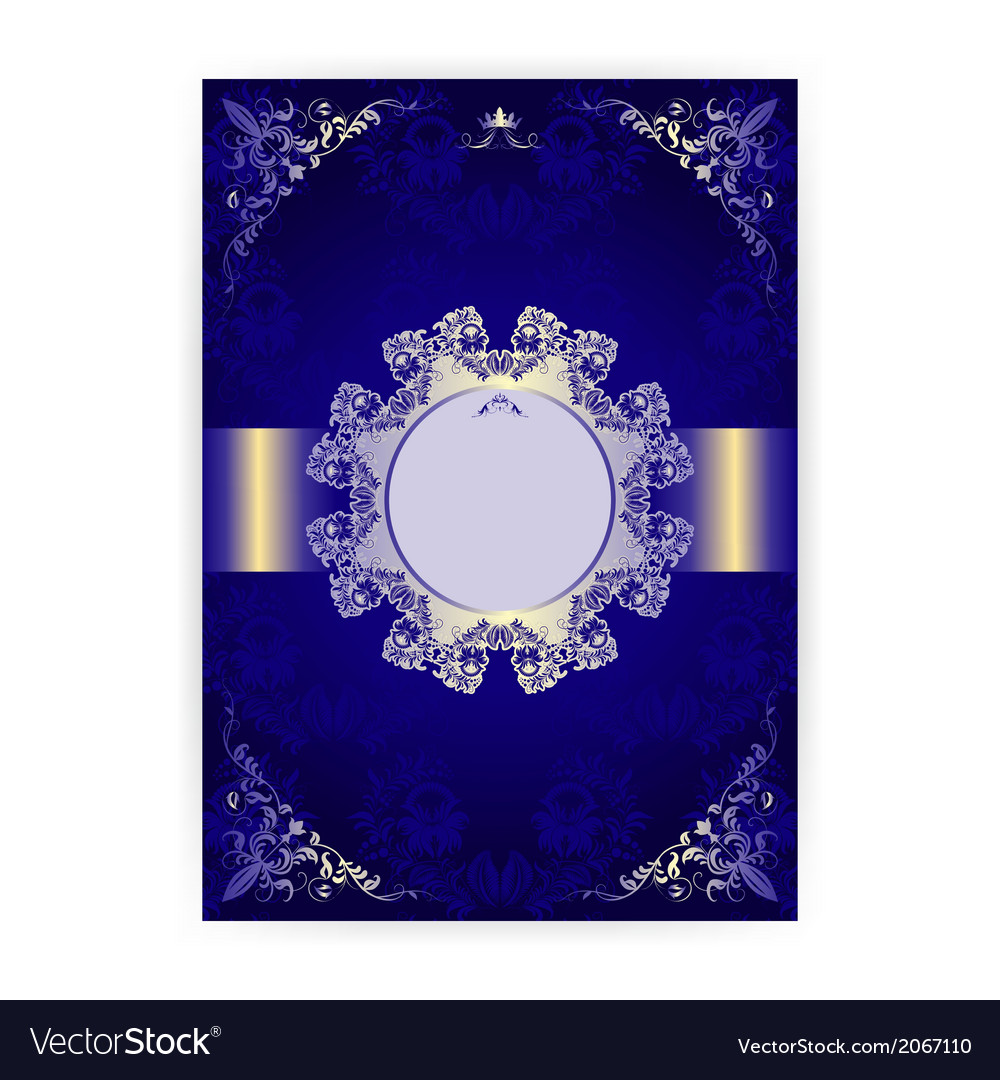 Royal invitation card in an old style royalty free vector royal invitation card in an old style vector image stopboris Images
