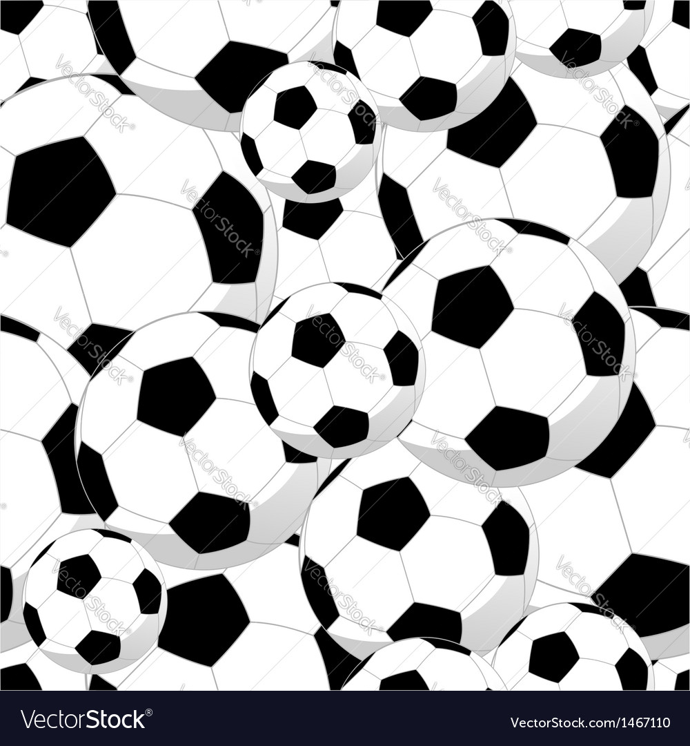 Soccer Pattern Awesome Decorating Design