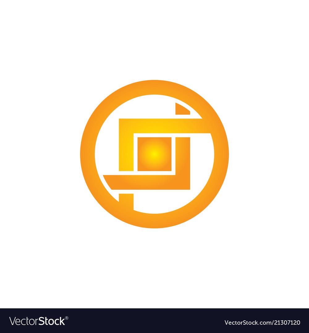 Abstract circle business company logo