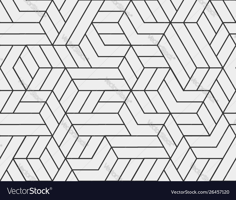 Abstract stripes line seamless pattern neutral