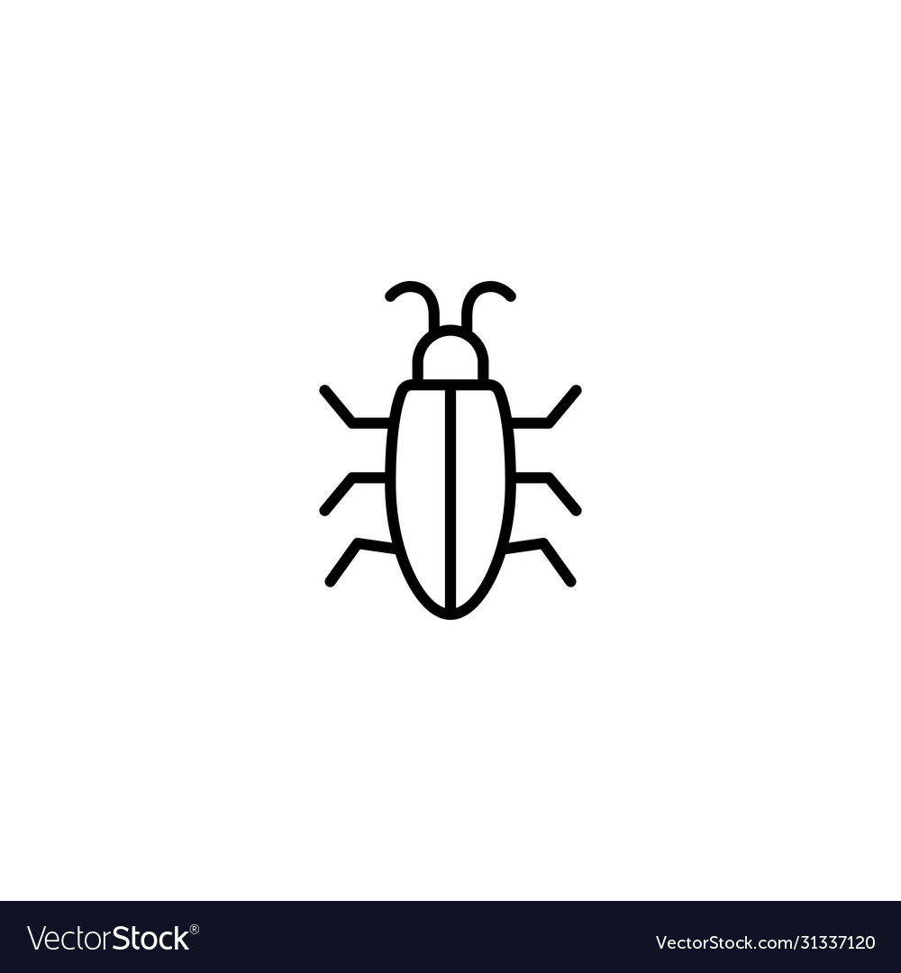 Insect bug icon