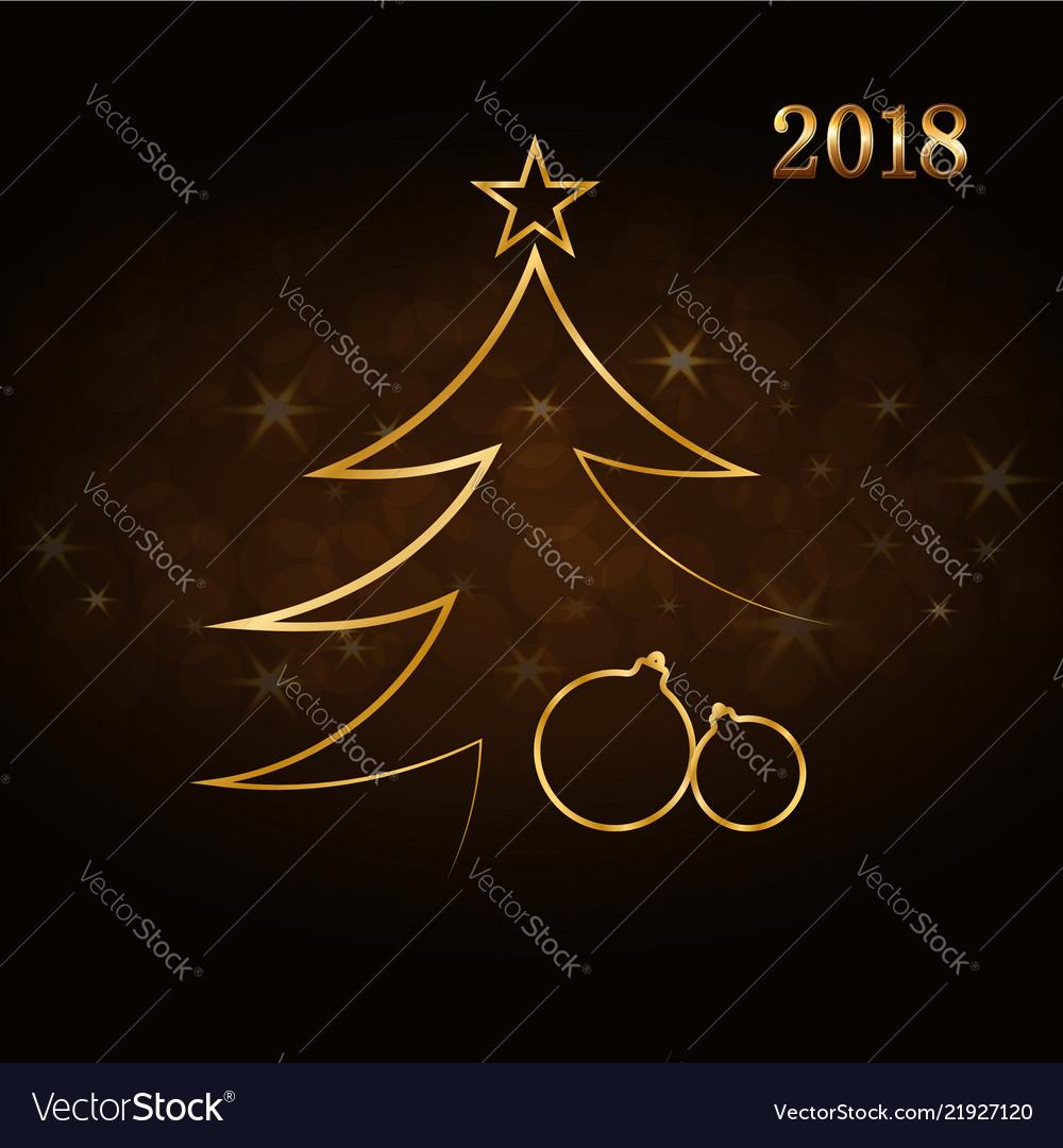 Merry christmas celebration background gold xmas