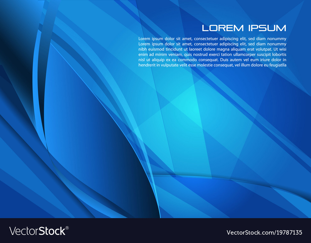 Abstract Background With Spiral In Blue Color