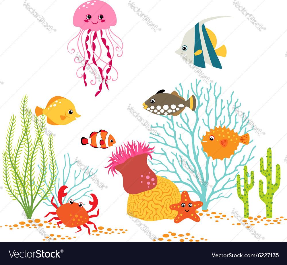 Underwater world design