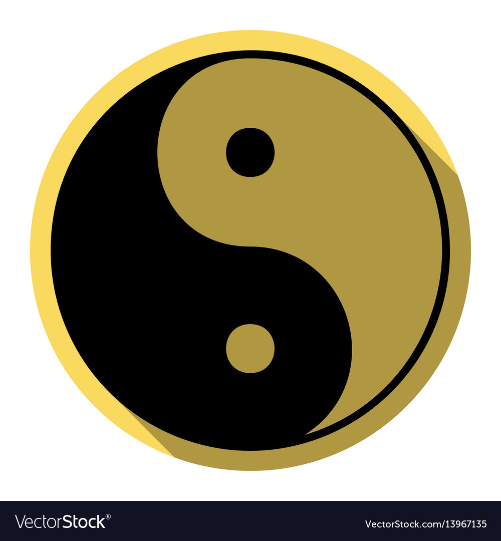 Yin Yang Yellow Vector Images 78