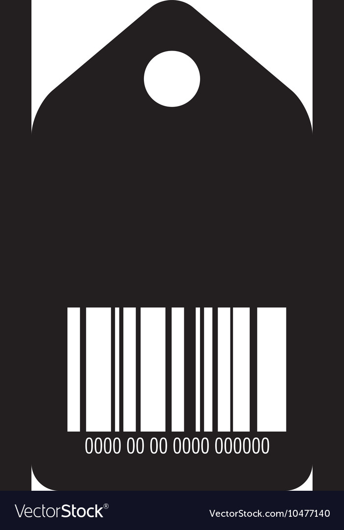 Barcode with serial number price tag