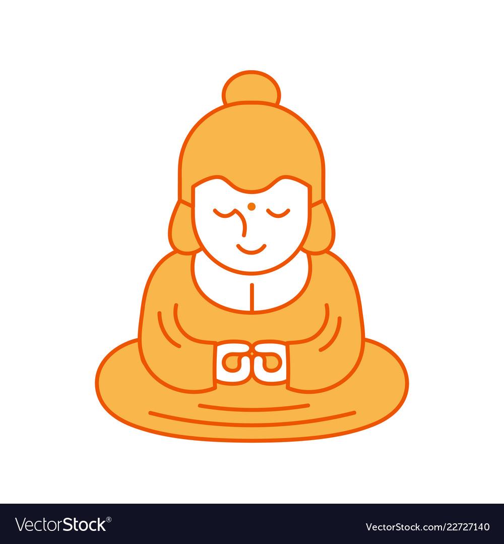 Buddha and lotus religious sacred