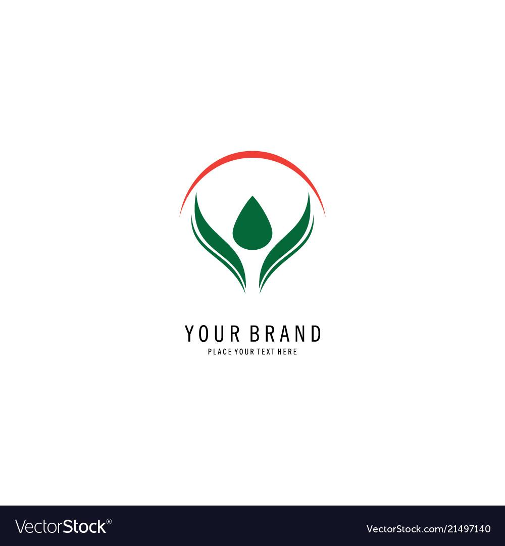 Health abstract logo