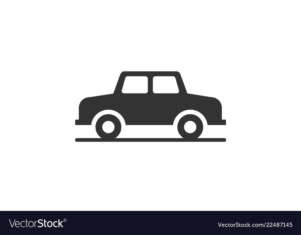 Car monochrome icon