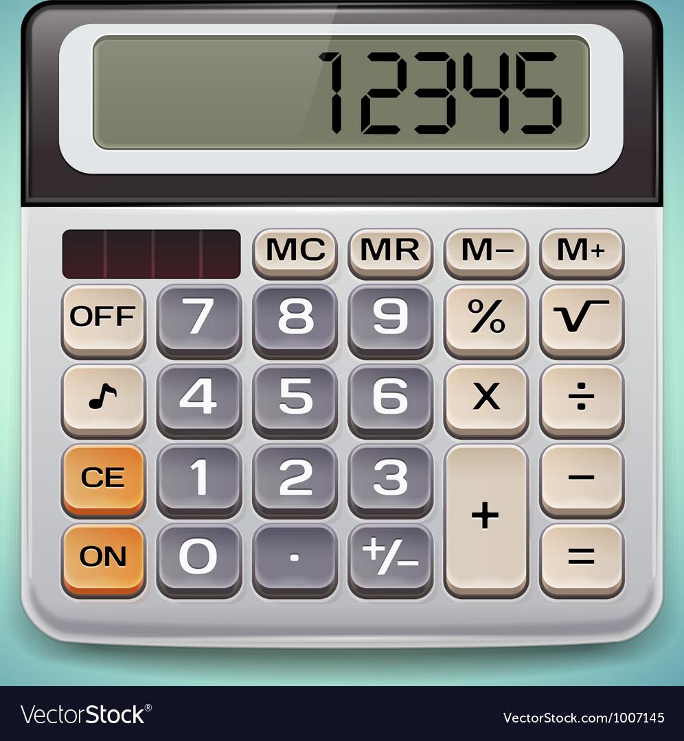 Realistic Electronic Calculator
