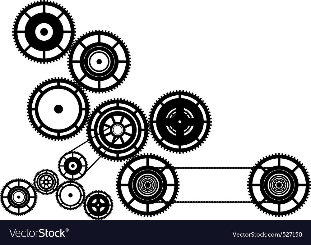 Machinery vector image