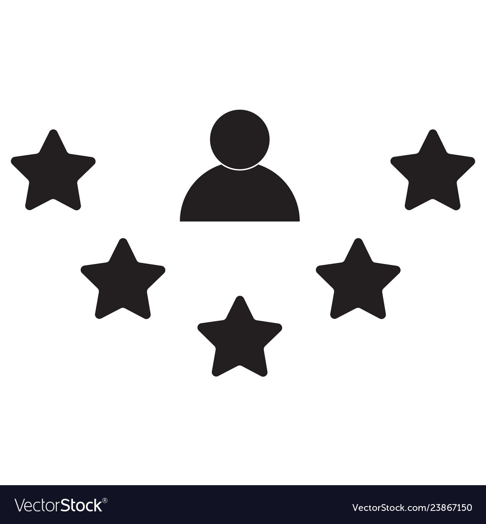 Rate icon on white background flat style rate