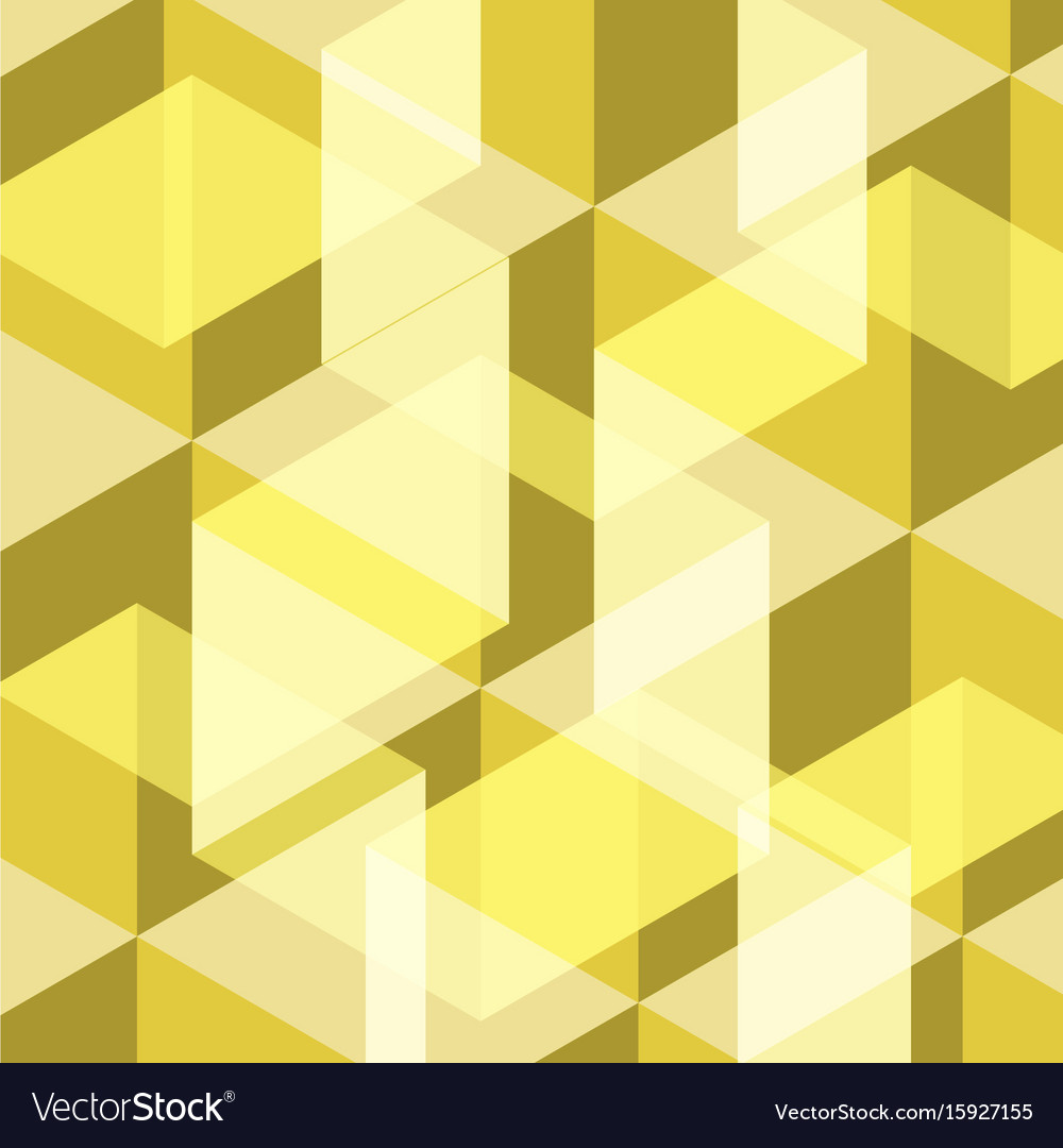 Abstract yellow geometric template background
