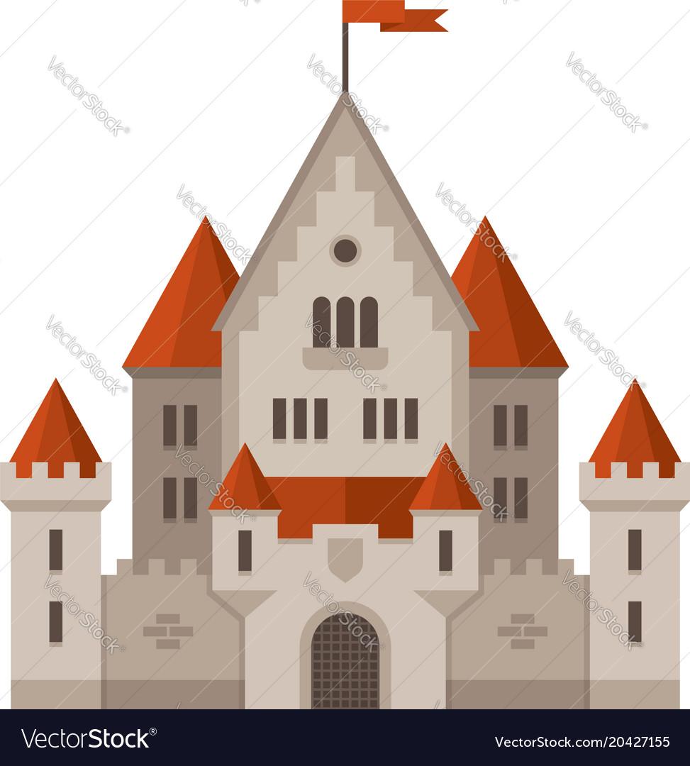 Flat castle
