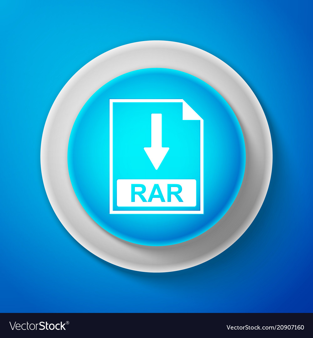Rar file document icon download rar button sign
