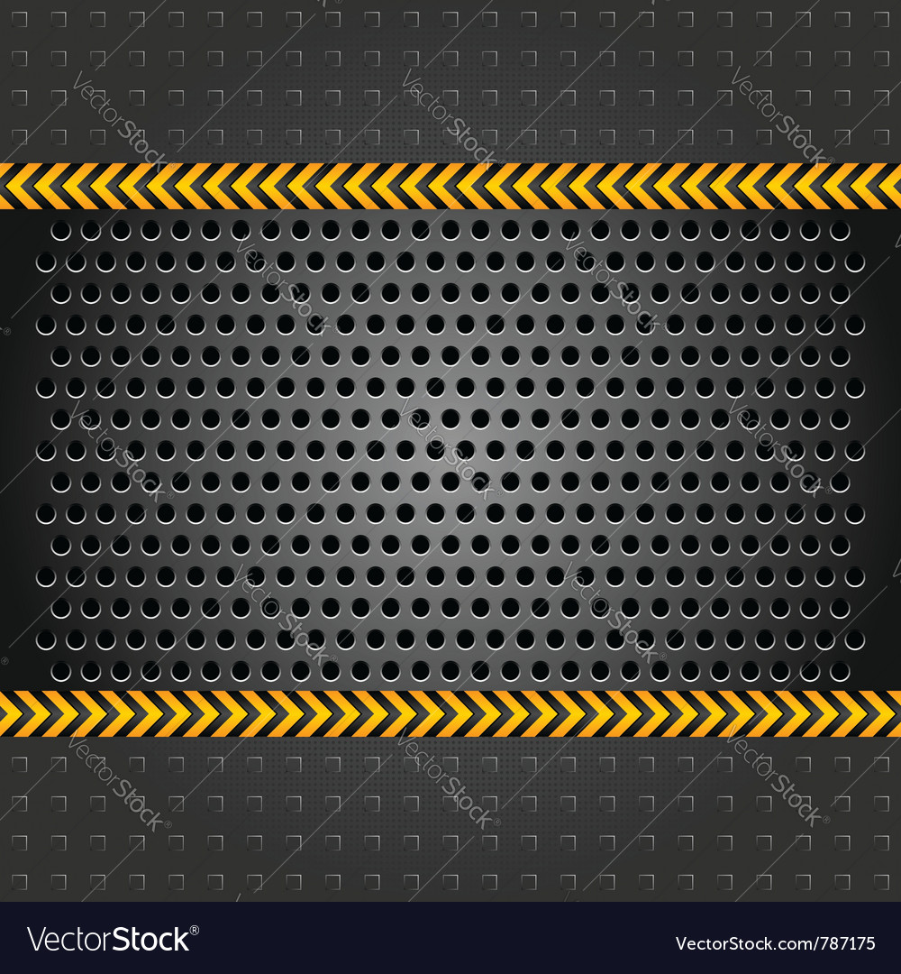 Metallic background template perforated iron sheet