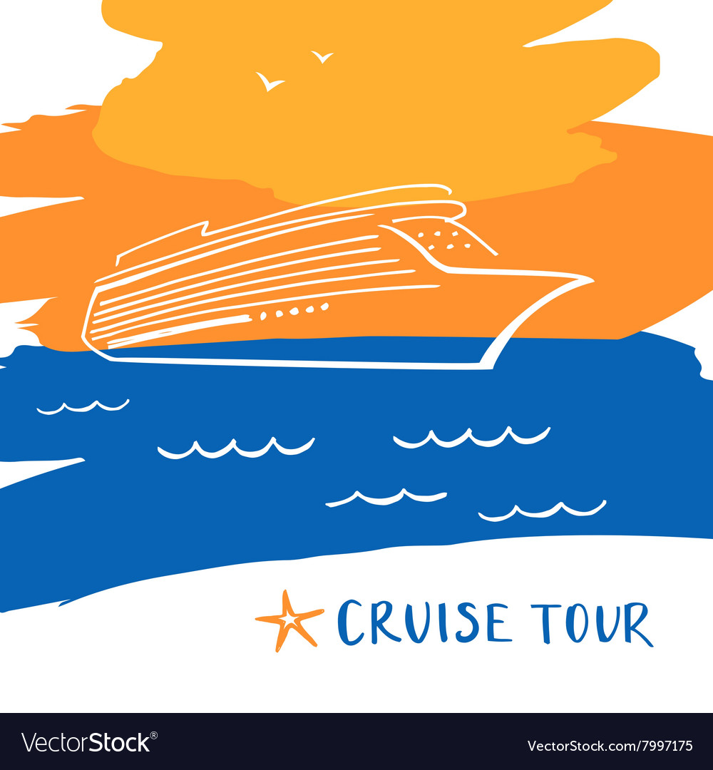 Poster for the travel and tourism resort Logo for