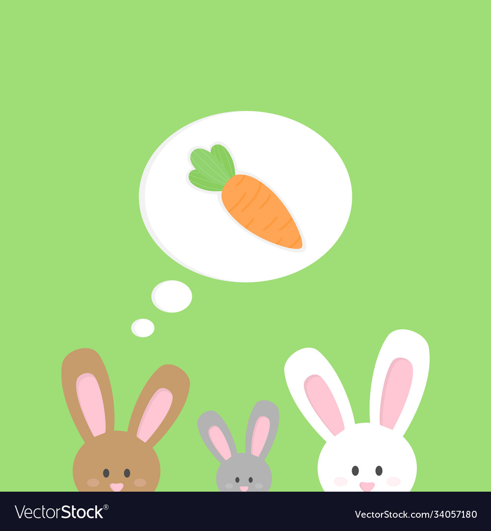 Easter Carrot Brown Vector Images 32