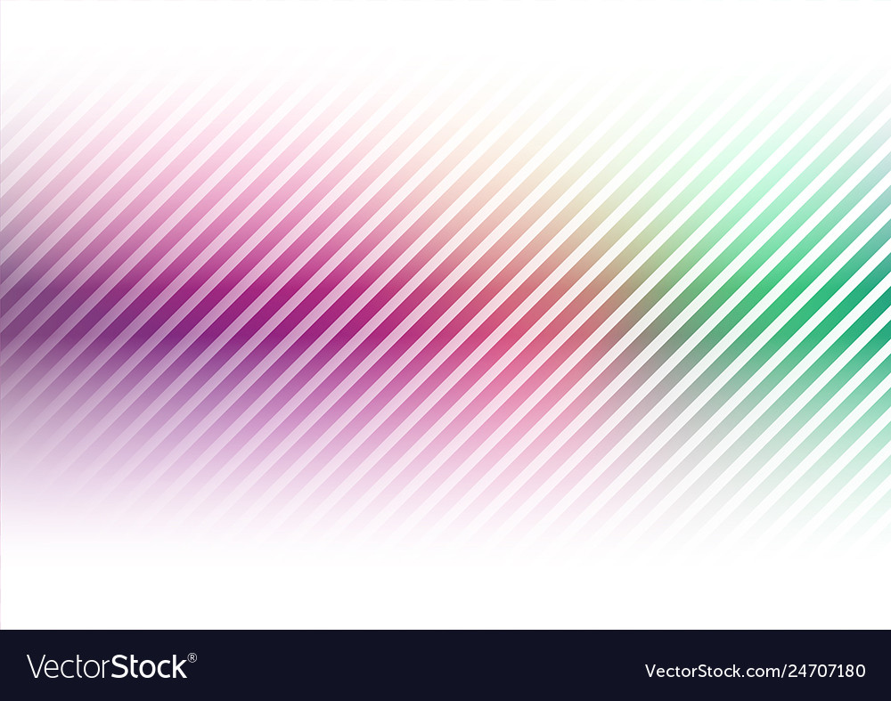 Diagonal lines on colorful background