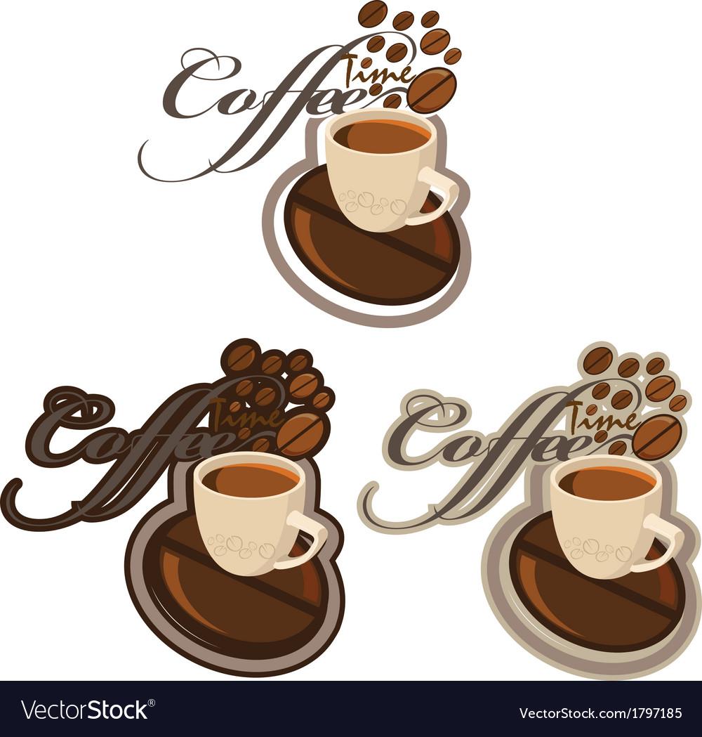 COFFE 2 new vector image