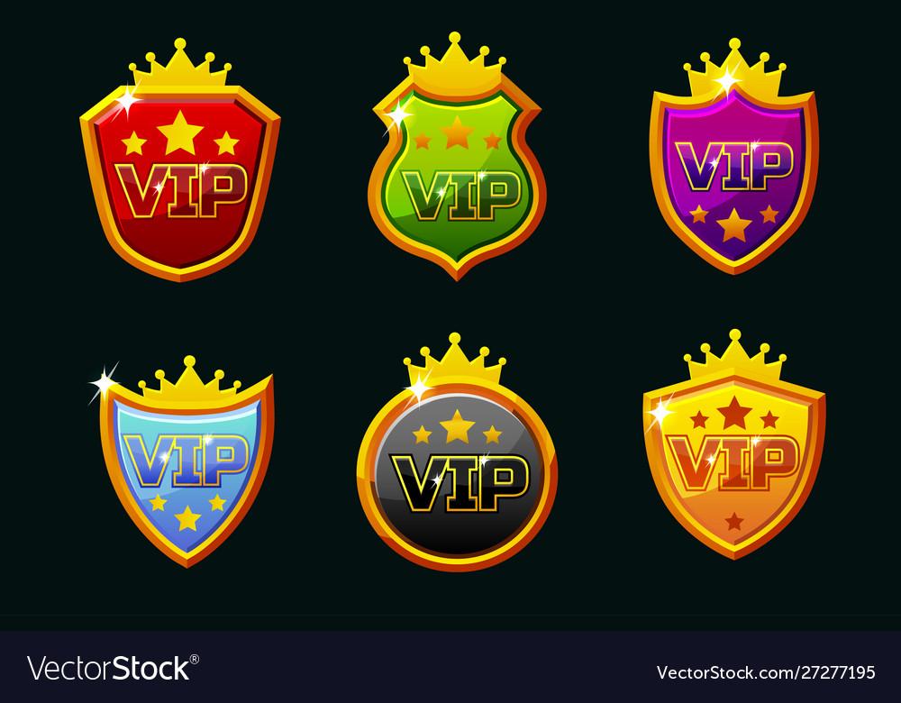Shields with vip logo awards achievement