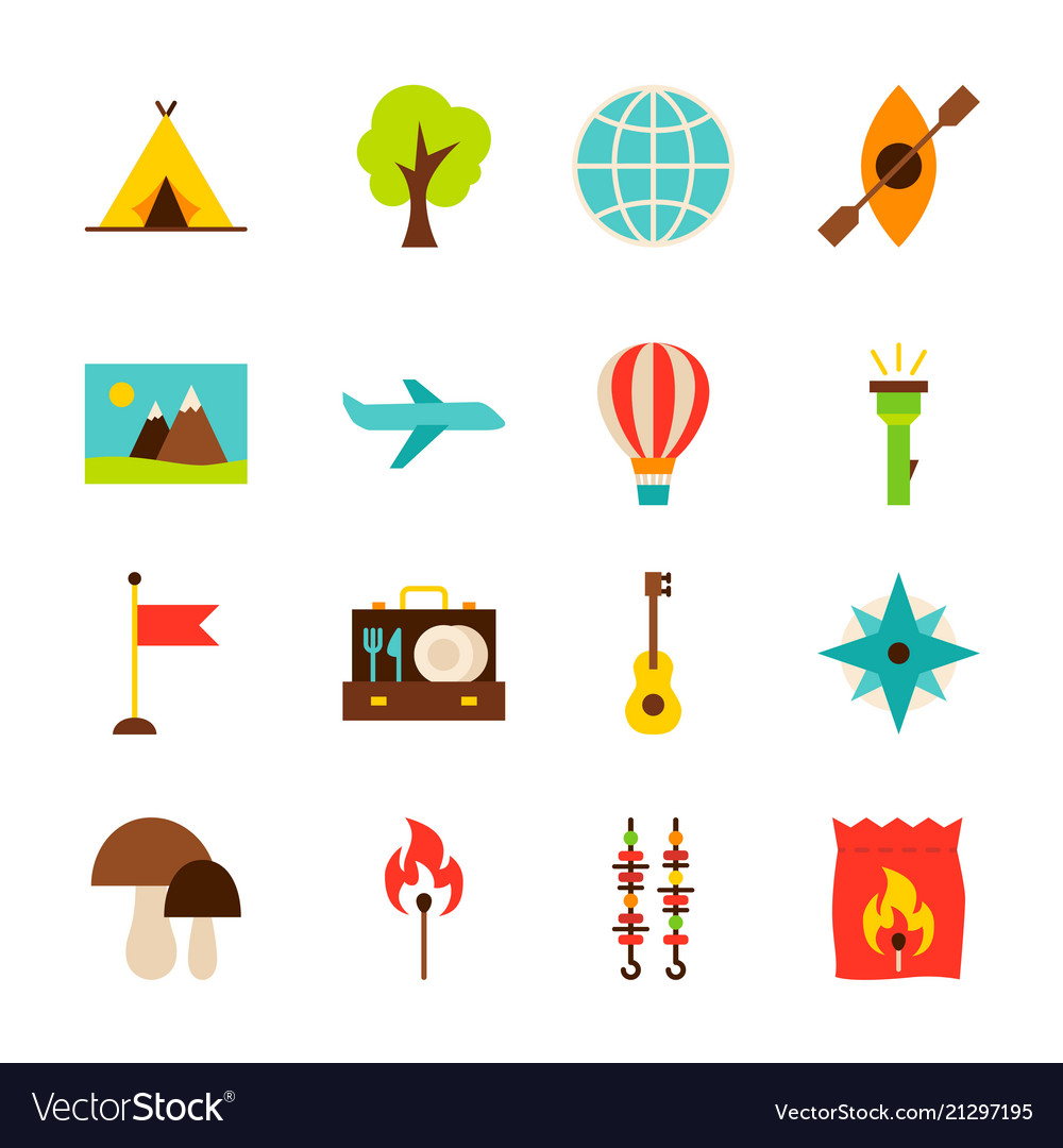 Summer camp objects