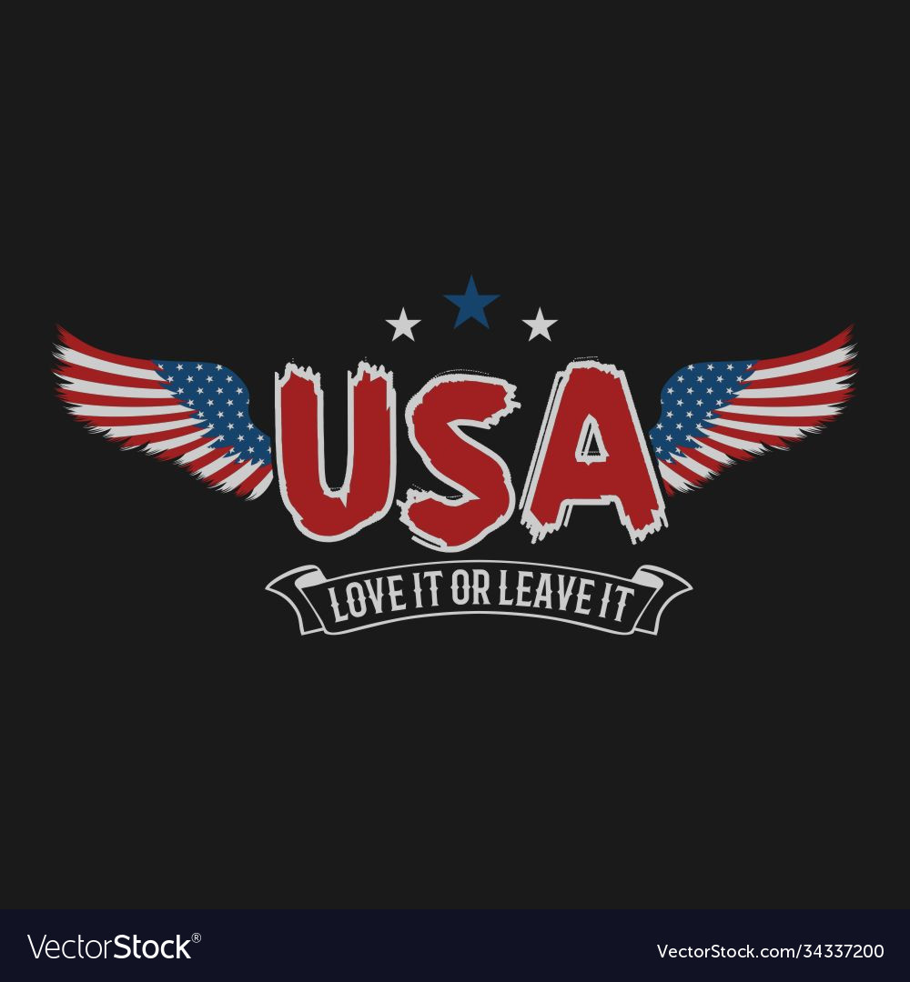 American wing love it or leave it design