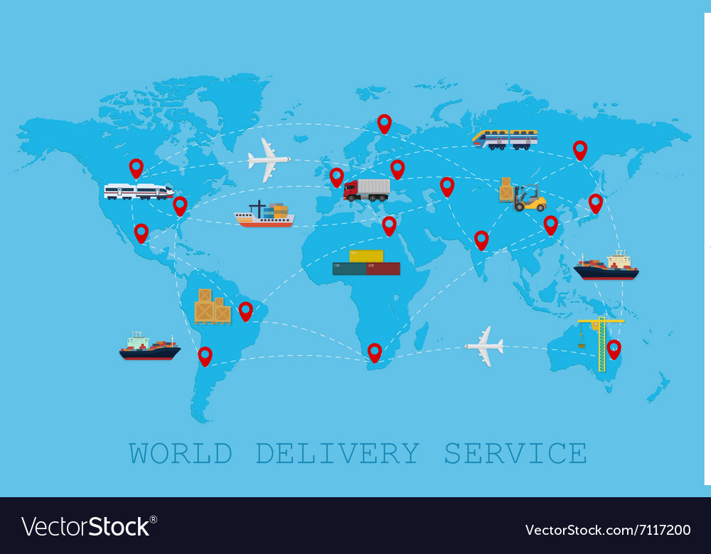 Global Logistic shipping and service worldwide