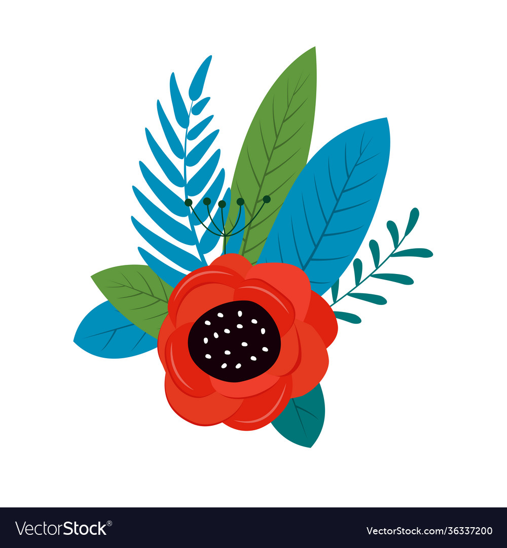 Spring and summer flowers bright background can